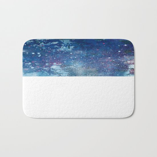 Cosmic fish, ocean, sea, under the water Bath Mat