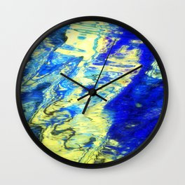 Playful River-Temptation Wall Clock