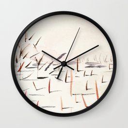 Sticks and Shadows on the North Thompson Wall Clock