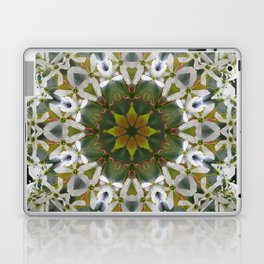 Lacy Serviceberry mandala 0033 k11 Laptop & iPad Skin