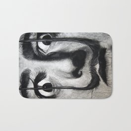 I am drugs ( Salvador Dali ) Bath Mat