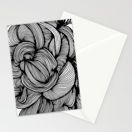 Organic Doodle 1408 Stationery Cards