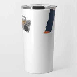 Hip-Hop-Opotamus Travel Mug