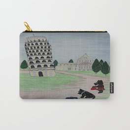 Tower of Pisa - Scottish Terriers Carry-All Pouch