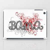 alabama iPad Cases featuring Alabama by Tanie