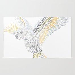 Geometric Cockatoo Rug