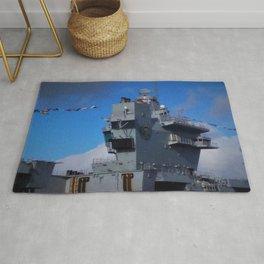 HMS Prince of Wales Aft Island Rug