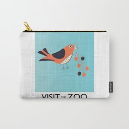 visit the zoo bird Carry-All Pouch