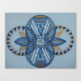 Om Balance Canvas Print