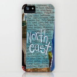 Northeast iPhone Case
