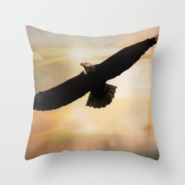 Soar High And Free Throw Pillow