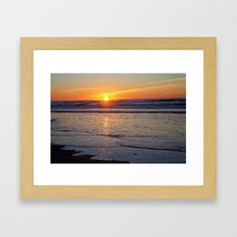 Sunrise over the Atlantic Framed Art Print