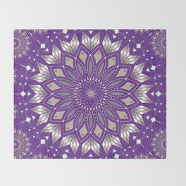 Ancestors (Purple) Throw Blanket