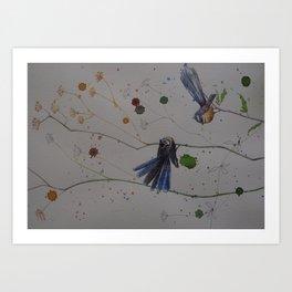 Piwakawaka Art Print