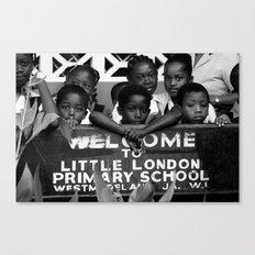 Little London in Jamaica Canvas Print