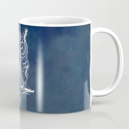 Warrior Owl Night Coffee Mug