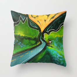 Stony Clove Throw Pillow