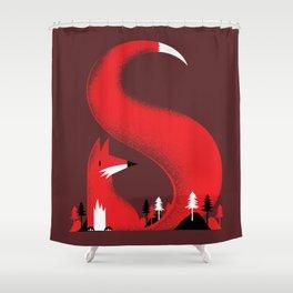 S like fox Shower Curtain