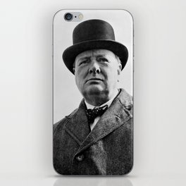Sir Winston Churchill iPhone Skin