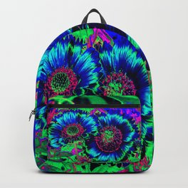 Hippie Flowers Backpack