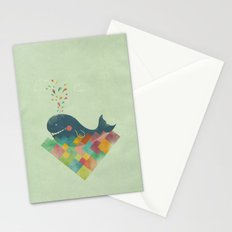 live in the present Stationery Cards