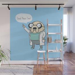 Good News Time! Wall Mural