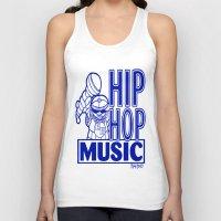 hip hop Tank Tops featuring  HIP HOP MUSIC  DESIGN... by T.H. DESIGNZZ