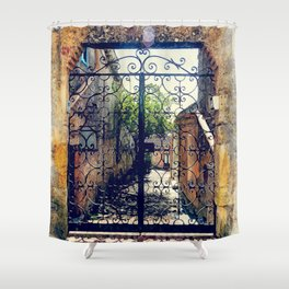 Erice art 10 Shower Curtain