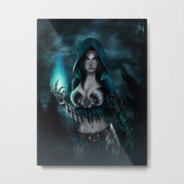 Necromancer Metal Print