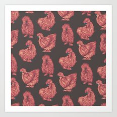 Silkie Art Print