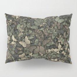 Butterflies camouflage Pillow Sham