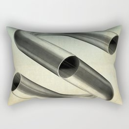 impossible tubes Rectangular Pillow