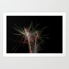 Fireworks make you wanna... (4) Art Print
