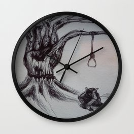 Hangman's Reality Wall Clock