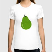 pear T-shirts featuring Pear by Roland Lefox