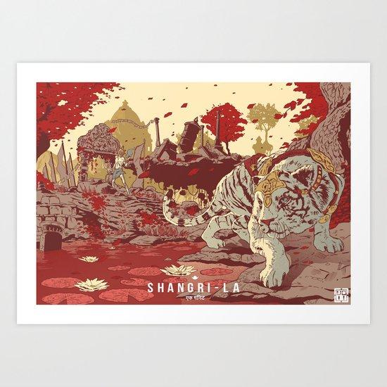 Shangri-La Art Print