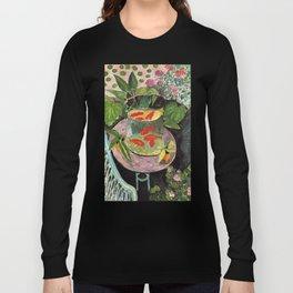 Henri Matisse Goldfish 1911, Goldfishes Artwork, Men, Women, Youth Long Sleeve T-shirt