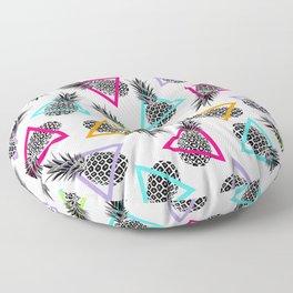 Pineapples & Triangles Floor Pillow