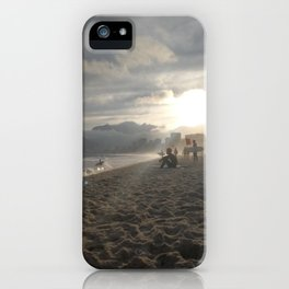 Sunset at Ipanemabeach iPhone Case