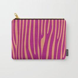 Funky zebra v1 Carry-All Pouch