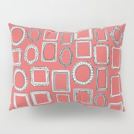 picture frames coral Pillow Sham
