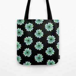 Geo Spring Flowers 04 Tote Bag