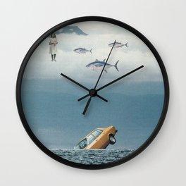 Lost Control Wall Clock