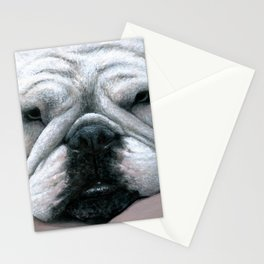 Dog 118 English Bulldog Stationery Cards