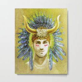 Theseus Metal Print