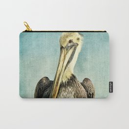 Brown Pelican Art Carry-All Pouch