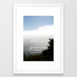 Pacific Ocean from Bolinas Framed Art Print