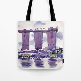 20140318 Marina Bay Sands Tote Bag