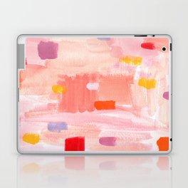 Put Sorrows In A Jar - abstract modern art minimal painting nursery Laptop & iPad Skin