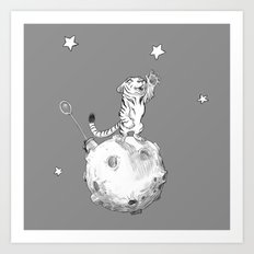 Greeting a Star Art Print